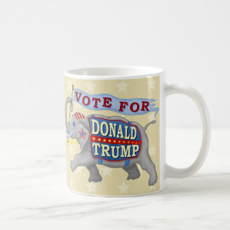 Donald Trump President 2016 Republican Elephant Basic White Mug