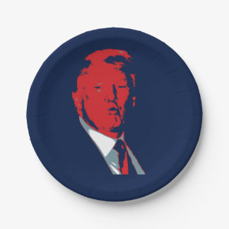 Donald Trump President 7 Inch Paper Plate