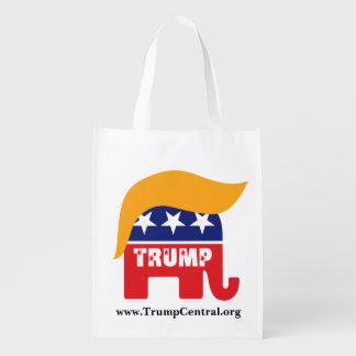 Donald Trump Republican Elephant Hair Logo