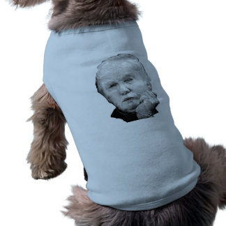 DONALD TRUMP SLEEVELESS DOG SHIRT