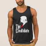 Donald Trump The Candidate Tanktop