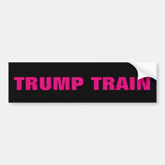 DONALD TRUMP TRAIN BUMPER STICKERS