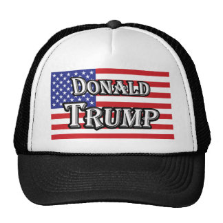 Donald Trump & U.S. Flag Cap
