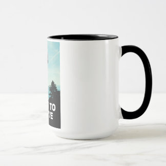 "Donald Trump UFO: ""I Want To Believe"" Mug"