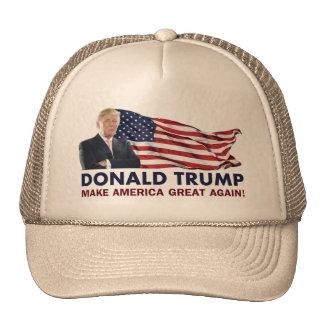Donald Trump US Flag Cap