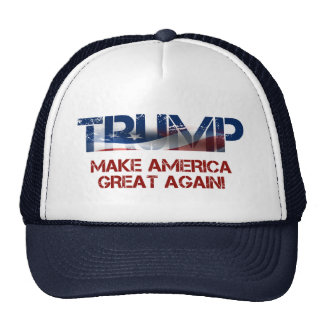 Donald Trump US Flag Cap