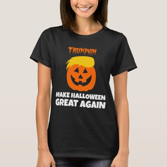 Donald Trumpkin Make Halloween Great Again T-Shirt