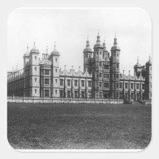 Donaldson's Hospital, built 1833-51 Square Sticker