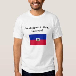 Donate to Haiti T Shirts