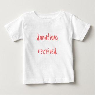 donations received tshirt
