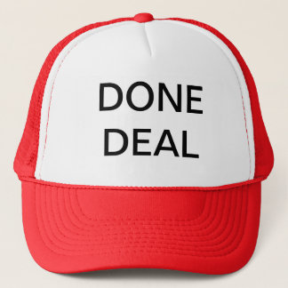 DONE DEAL TRUCKER HAT
