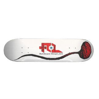Done In Extreme Brain Skateboard