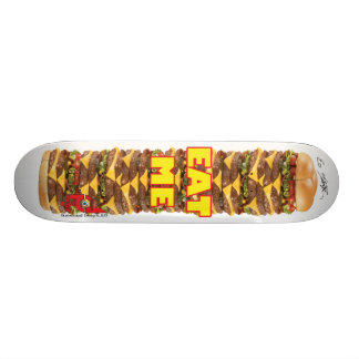 Done In Extreme EAT ME Board Skateboard Deck