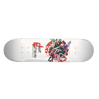 Done In Extreme SK8 Skateboard (woodgrain)