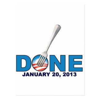 Done - January 20, 2013 - Anti Obama Post Card
