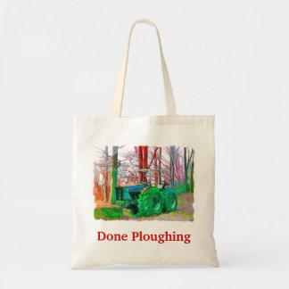 DONE PLOUGHING TOTE BAG