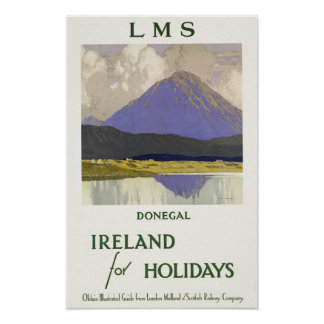 Donegal,Ireland For Holidays Poster