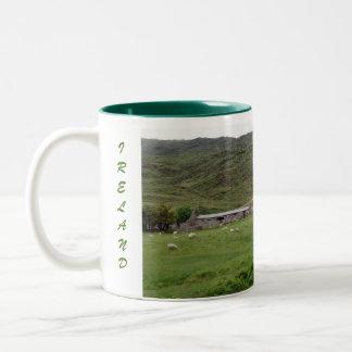 Donegal Ireland Two-Tone Coffee Mug
