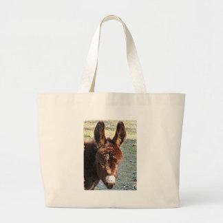 Donkey #2 large tote bag