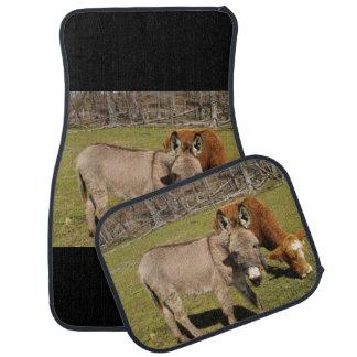 Donkey and Cow Car Mats Full Set Car Mat