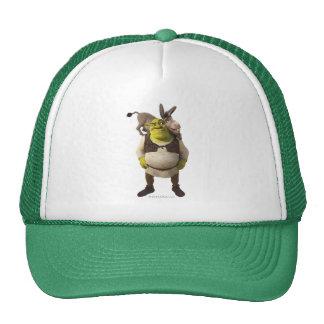 Donkey And Shrek Cap