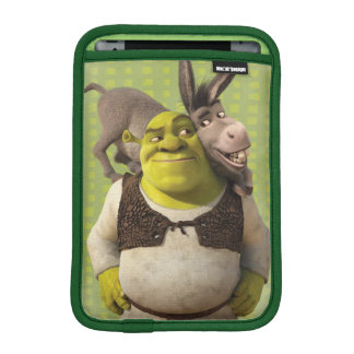 Donkey And Shrek iPad Mini Sleeve
