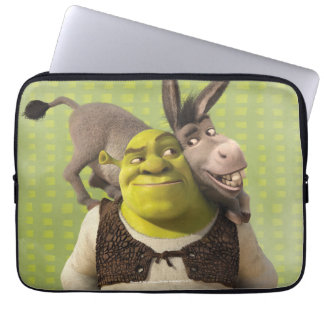 Donkey And Shrek Laptop Sleeve