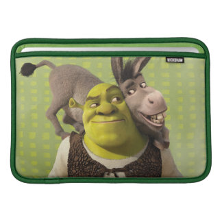 Donkey And Shrek MacBook Sleeve