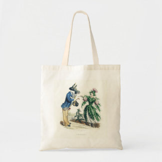 Donkey and Thistle Tote Bag