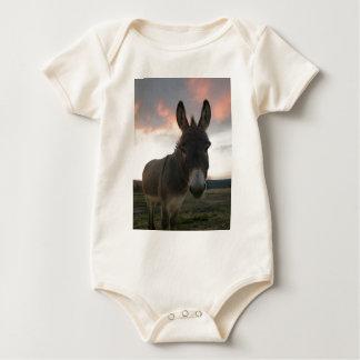Donkey Art Baby Bodysuit