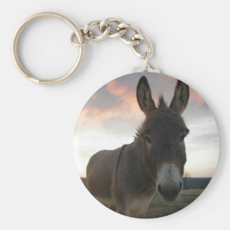 Donkey Art Basic Round Button Key Ring