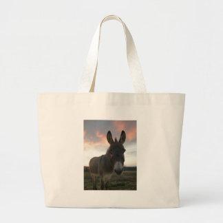 Donkey Art Large Tote Bag
