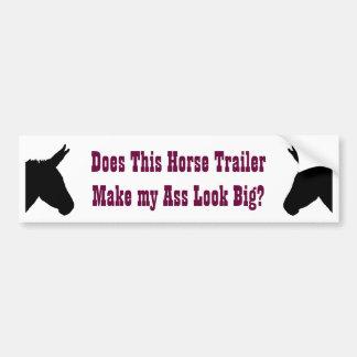 Donkey/Ass Bumper Sticker