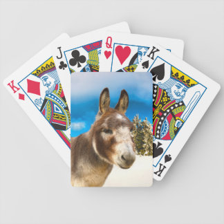 Donkey Bicycle Playing Cards