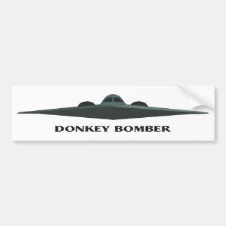 Donkey Bomber II Bumper Sticker