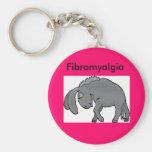 donkey, Fibromyalgia Key Chains