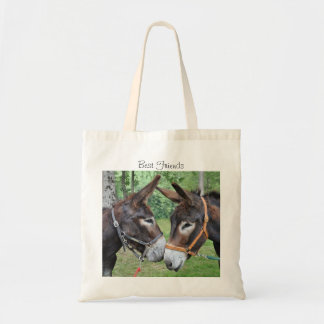 Donkey friends tote bag