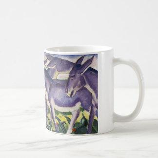 Donkey Frieze by Franz Marc Coffee Mug