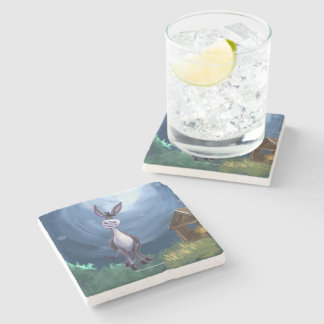 Donkey Gifts & Accessories Stone Coaster