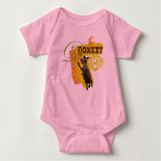 Donkey Graphic Baby Bodysuit