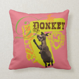 Donkey Graphic Cushion