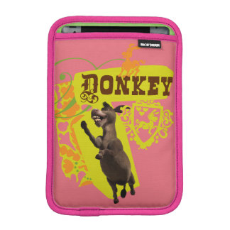 Donkey Graphic iPad Mini Sleeve