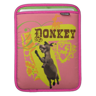 Donkey Graphic iPad Sleeve