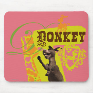 Donkey Graphic Mouse Mat