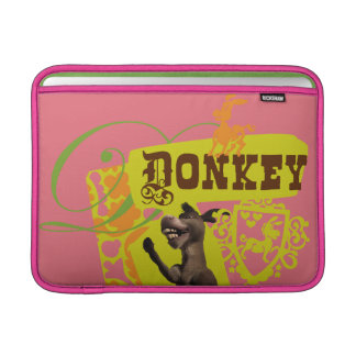 Donkey Graphic Sleeve For MacBook Air