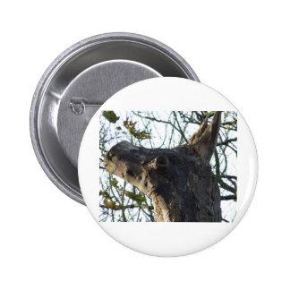 Donkey Head 6 Cm Round Badge