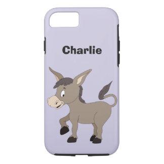 Donkey illustration custom name phone cases