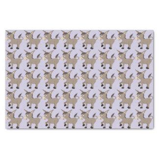 Donkey Illustration tissue paper