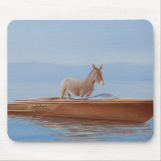 Donkey in a Riva 2010 Mouse Mat