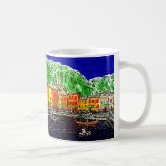 donkey in Portofino, Italy Classic White Coffee Mug